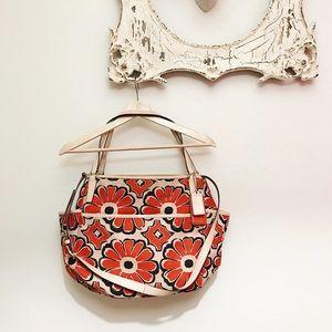 Coach Poppy Floral Canvas Diaper Bag